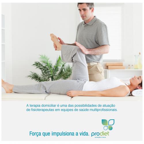 A importância do fisioterapeuta na terapia domiciliar