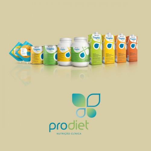 Prodiet apresenta novas embalagens para a linha Trophic
