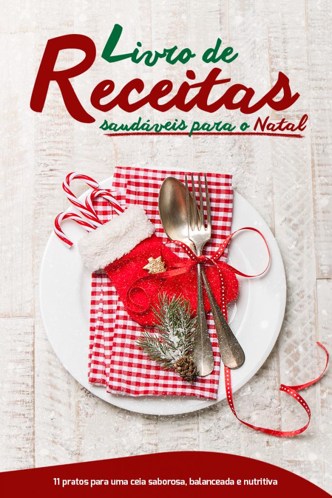 Livro de receitas saudáveis para o Natal