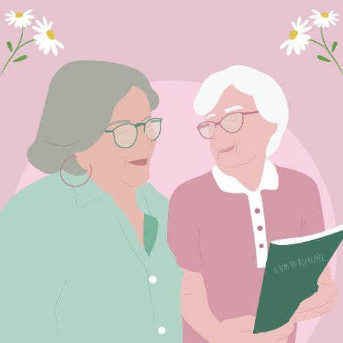 Cuidador familiar: ilustração